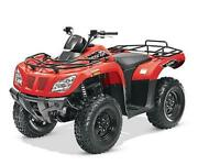 2015 ARCTIC CAT 400 4X4 $4995