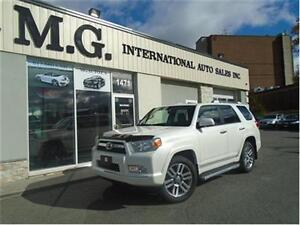 2012 Toyota 4Runner Limited 4WD 7 Pass. w/Leather/Navi/Roof