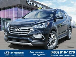 2017 Hyundai Santa Fe Sport Limited - AWD, Keyless Entry, Leathe