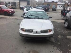 2001 SATURN ION AUTOMATIQUE,4 CYL,AIR CLIMATISER,98000 KM