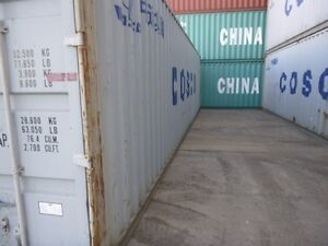 20' B Grade Shipping Containers Broke Singleton Area Preview