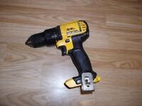 DEWALT 18 volt XR Li-ion cordless drill BODY ONLY
