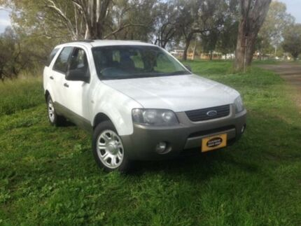 2008 Ford Territory SY MY07 Upgrade TX (RWD) White 4 Speed Auto Seq Sportshift Wagon Coonamble Coonamble Area Preview