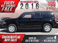 2015 Jeep Patriot 4x4 NORTH EDITION-ONLY 6400KM