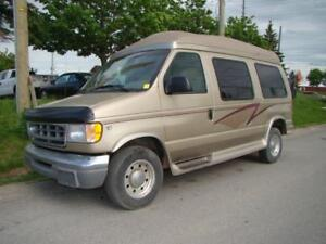 2000 FORD ECONOLINE E250 - WHEELCHAIR ACCESSIBLE * HIGH ROOF