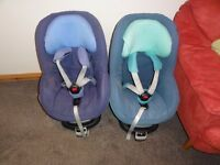 Maxi Cosi Pearl car seat and Isofix/familyfix base x 2