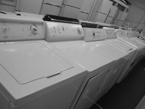 WASHERS, WHITE, TOP LOADING, LOTS TO CHOOSE, $180+