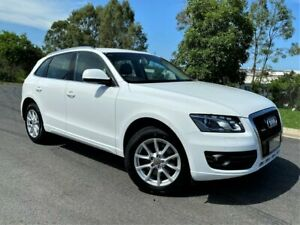 2012 Audi Q5 8R MY12 TDI S Tronic Quattro White 7 Speed Sports Automatic Dual Clutch Wagon Darra Brisbane South West Preview