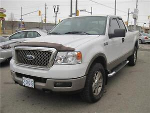 2005 Ford F-150 Lariat Supercab 4X4  6.5 FT BOX | Leather |