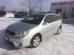 2006 TOYOTA MATRIX XR - AWD - 4 CYLINDER - AUTOMATIC - CLEAN