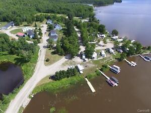Immobilier Camping à Vendre Bord de L'eau Domaine Abitibi