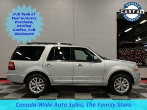 2017 Ford Expedition 4x4, Limited, Leather, Sunroof, Navigation,