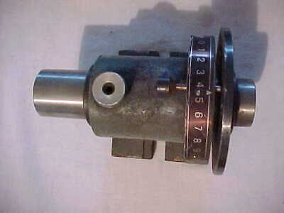 Vintage Used Indexing Collet Head Lathe Mill Grinder Hardinge Browne Sharpe