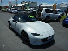 2015 Mazda MX-5 K GT White 6 Speed Automatic Roadster Westcourt Cairns City Preview
