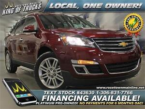 2015 Chevrolet Traverse 1LT Local | One Owner | Low KM