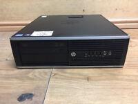 HP Compaq Elite 8300 SFF Core i7-3770 3.4Ghz Quad 8GB Ram 1TB HDD Win 10 PC