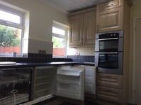 full kitchen units and appliances. double oven/hob/ fridge/frezzer/dishwasher all intergraneted