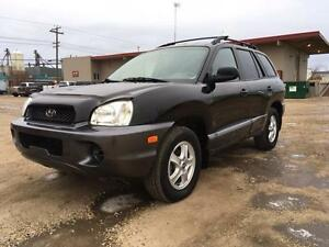 2003 Hyundai Santa Fe -NO CREDIT CHECKS! CALL TODAY 780 918 2696