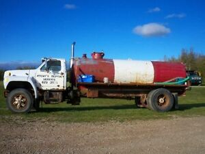 VAC TANK FOR SEPTIC SERVICE