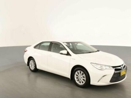 2015 Toyota Camry AVV50R MY15 Altise Hybrid Diamond White Continuous Variable Sedan Clemton Park Canterbury Area Preview