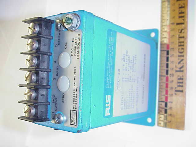 ROCHESTER INSTRUMENT SYSTEMS CCC-18 CURRENT TRANSDUCER