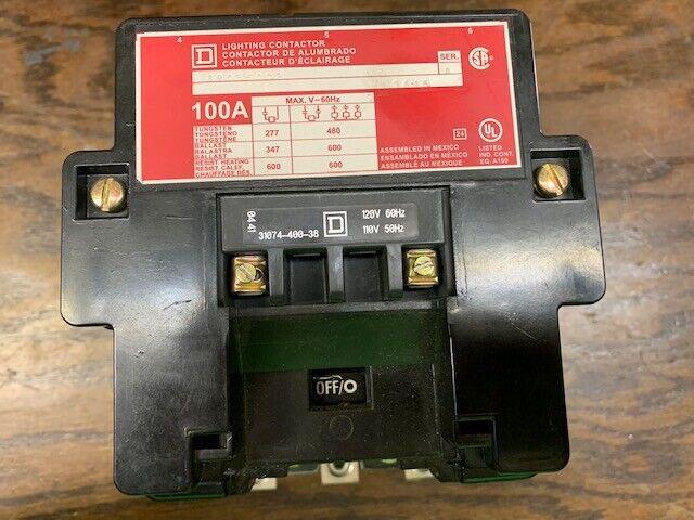 8903SQO2V02 SQUARE D/TELEMECANIQUE LIGHTING CONTACTORS