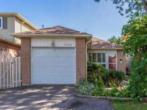 Wonderful 3BR Bungalow Nestled In The Heart Of Meadowvale