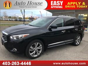 2013 INFINITI JX35 2 DVD SCREENS 7 PASS NAVIGATION BACKUP CAMERA