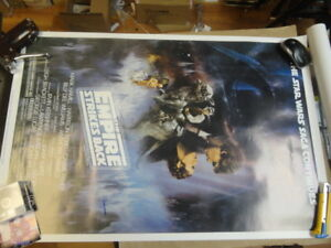 FULL SIZE STAR WARS MOVIE POSTER AUTOGRAPHED - BOBA FETT - JSA