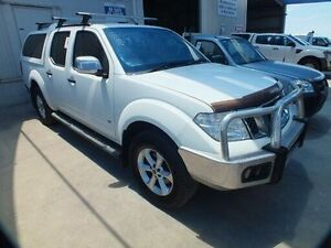 2013 Nissan Navara D40 MY12 ST-X 550 (4x4) White 7 Speed Automatic Dual Cab Utility Bohle Townsville City Preview