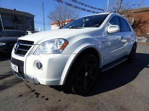 2010 MERCEDES-BENZ ML63 AMG 4MATIC (503 HP, NAVI, DVD, FULL!!!)