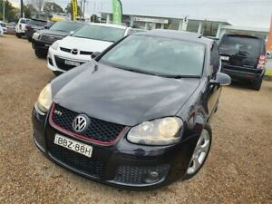 2007 Volkswagen Golf V MY08 GTI DSG Black 6 Speed Sports Automatic Dual Clutch Hatchback Sylvania Sutherland Area Preview