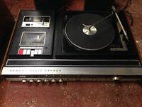 Vintage Retro Record player / Music Centre & Speakers - All working