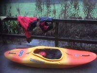 Junior Kayak. Full Equipment Included.