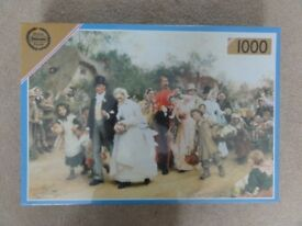 Falcon 1000 piece jigsaw puzzle - The Village Wedding