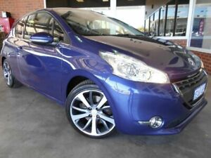 2012 Peugeot 208 Allure Sport Blue 6 Speed Manual Hatchback St James Victoria Park Area Preview