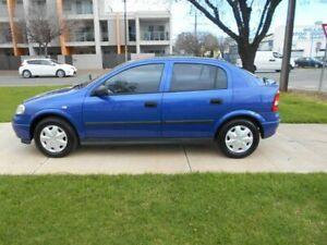 2004 Holden Astra TS MY04.5 Classic Blue 5 Speed Manual Hatchback Beverley Charles Sturt Area Preview