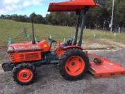 Kubota L2050 25hp 4WD tractor with Howard slasher Cremorne Point North Sydney Area Preview