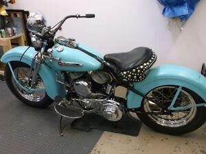 1949 Harley Davidson Flathead