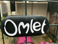 OMLET cage and run for small animals - good as new