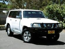 2010 Nissan Patrol GU 7 MY10 ST White 4 Speed Automatic Wagon Melrose Park Mitcham Area Preview
