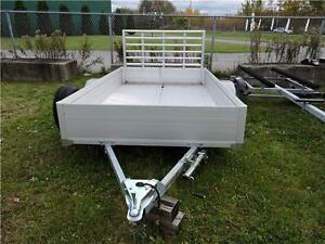 Smart Aluminum 6x10 Trailer