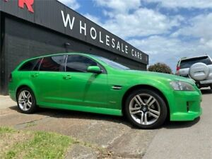 2009 Holden Commodore VE MY09.5 SV6 Sportwagon Green 5 Speed Sports Automatic Wagon Mayfield West Newcastle Area Preview