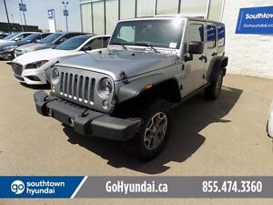 2014 Jeep Wrangler Unlimited LEATHER, REAR LOCKING DIFF.