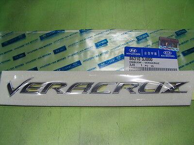 "Genuine Hyundai ""VERACRUZ"" Rear Trunk Script letters Emblem"
