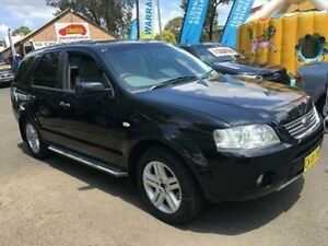 2005 Ford Territory SX Ghia (RWD) Black 4 Speed Auto Seq Sportshift Wagon Campbelltown Campbelltown Area Preview