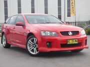 2009 Holden Commodore VE MY09.5 SV6 Sportwagon Red 5 Speed Sports Automatic Wagon Smeaton Grange Camden Area Preview