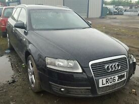 BIG VARIETY OFF PARTS AVAILABLE FOR 2006 AUDI A6 SE TDI ENGINE GEARBOX BODY PARTS