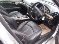MERCEDES-BENZ E CLASS 3.0 E280 CDI SPORT 4d AUTO 187 BHP (silver) 2006