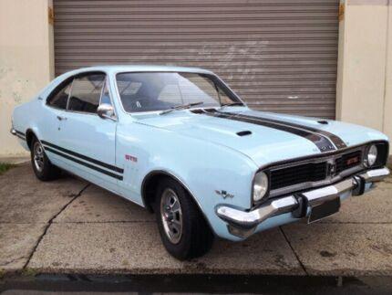1969 Holden Monaro HT Bathurst Blue 4 Speed Manual 2-Door Coupe/Sedan